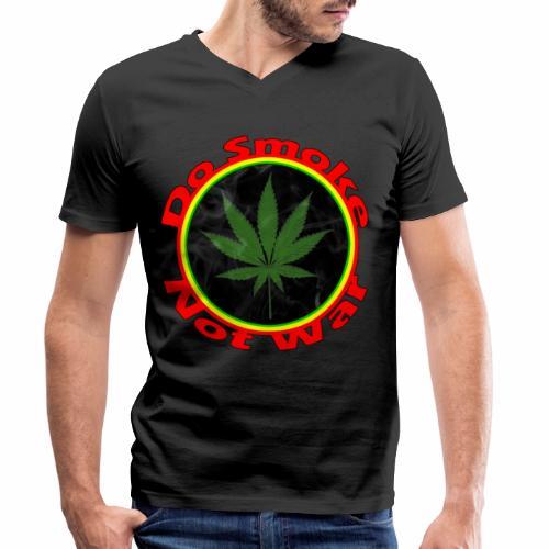 Do Smoke Not War - Männer Bio-T-Shirt mit V-Ausschnitt von Stanley & Stella