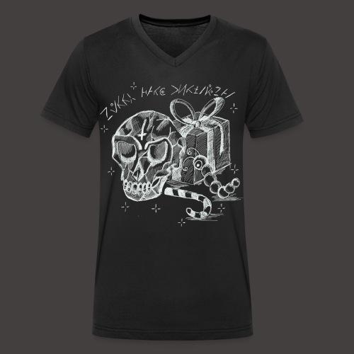 Merry Dark Christmas - T-shirt bio col V Stanley & Stella Homme
