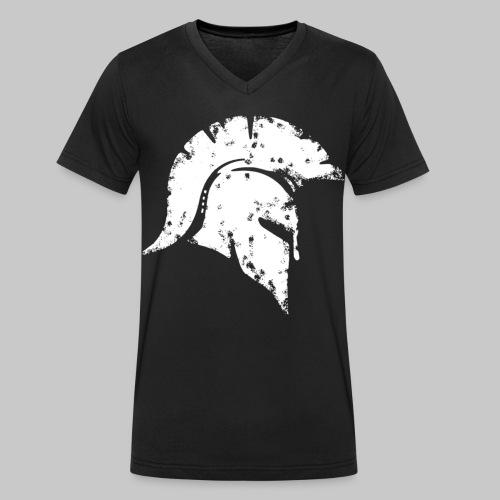 2reborn spartan honor ehre krieger kaempfer warrio - Männer Bio-T-Shirt mit V-Ausschnitt von Stanley & Stella