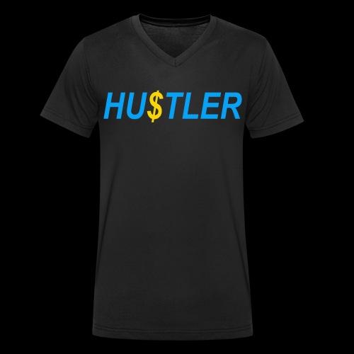 Hustler - Männer Bio-T-Shirt mit V-Ausschnitt von Stanley & Stella