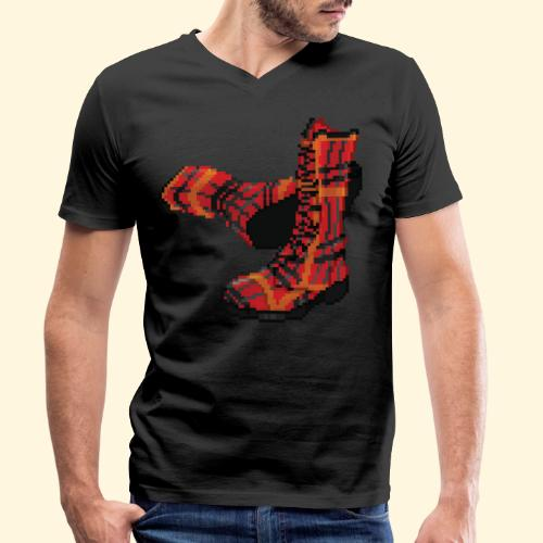 Rock and Shoes - Rock'n'll Shoes - T-shirt bio col V Stanley & Stella Homme