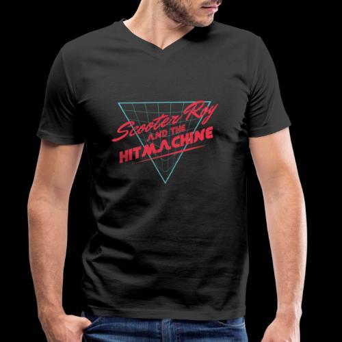 ScooterRoy and the Hitmachine - Mannen bio T-shirt met V-hals van Stanley & Stella