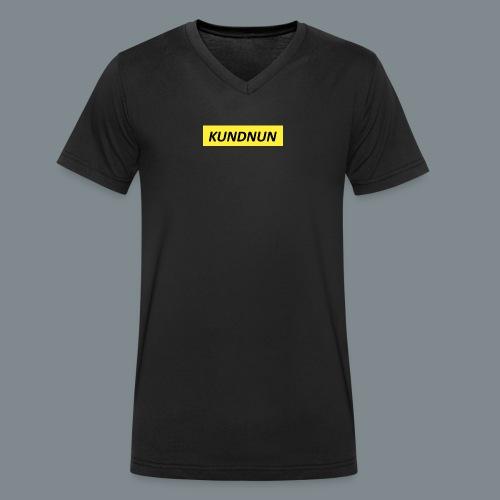 Kundnun official - Mannen bio T-shirt met V-hals van Stanley & Stella