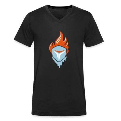Fire and Ice 3C - Männer Bio-T-Shirt mit V-Ausschnitt von Stanley & Stella