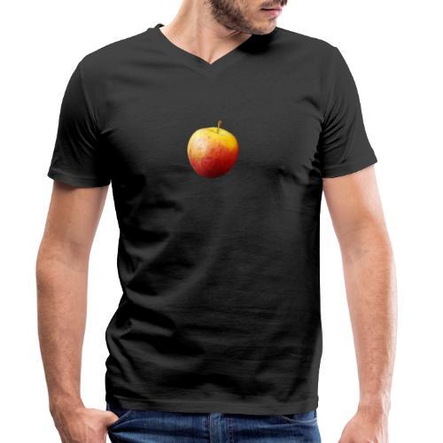 rood fruit met een naam - Mannen bio T-shirt met V-hals van Stanley & Stella