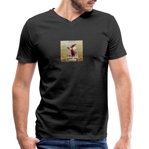 Ti do un cazzotto Ti Incendio - T-shirt ecologica da uomo con scollo a V di Stanley & Stella