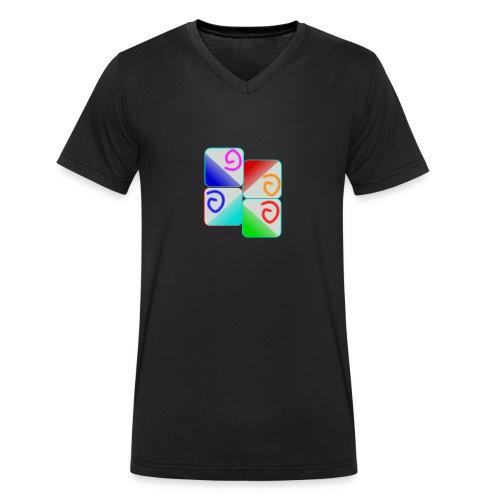 santai - Men's Organic V-Neck T-Shirt by Stanley & Stella