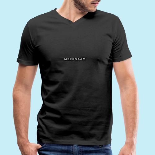 marque - T-shirt bio col V Stanley & Stella Homme