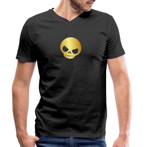 Logo Brawl Brawler Stars Gamer Gaming - Camiseta ecológica hombre con cuello de pico de Stanley & Stella