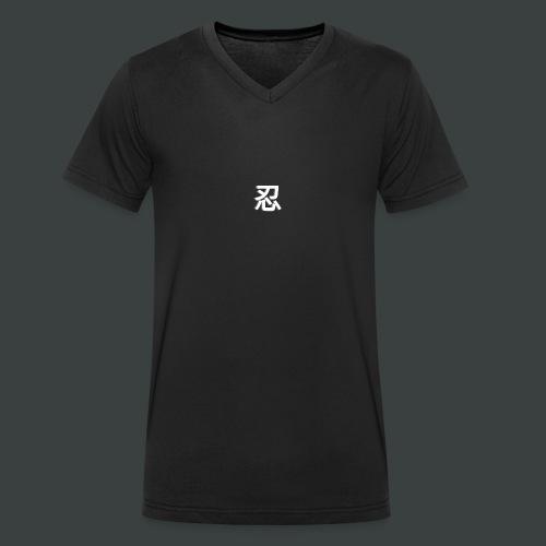 dos 1 png - T-shirt bio col V Stanley & Stella Homme