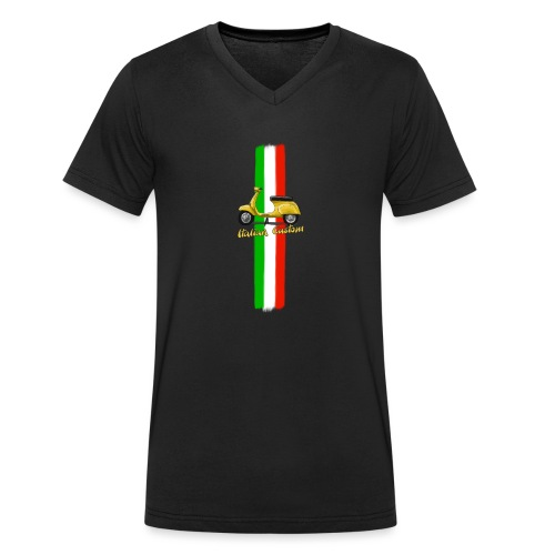 Italian Custom V0l.2.png - Männer Bio-T-Shirt mit V-Ausschnitt von Stanley & Stella