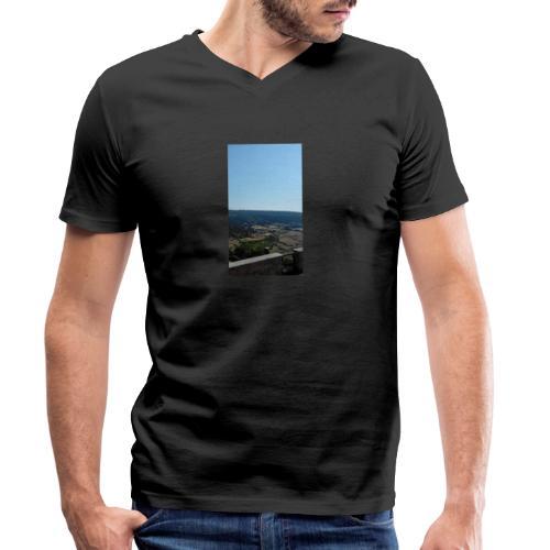 Panorama - T-shirt ecologica da uomo con scollo a V di Stanley & Stella