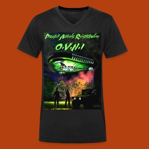 T Shirt ovni green 01 - T-shirt bio col V Stanley & Stella Homme