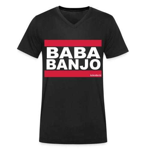 baba banjo - Männer Bio-T-Shirt mit V-Ausschnitt von Stanley & Stella