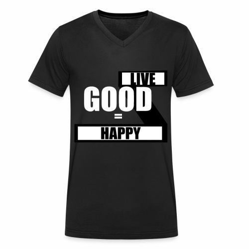 Live good - Økologisk Stanley & Stella T-shirt med V-udskæring til herrer