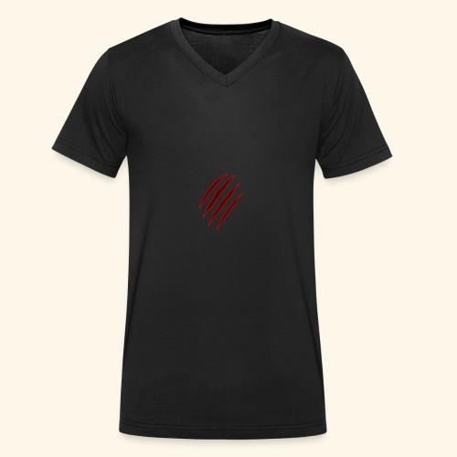 garras - Camiseta ecológica hombre con cuello de pico de Stanley & Stella
