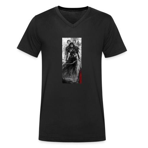 Magus - Männer Bio-T-Shirt mit V-Ausschnitt von Stanley & Stella