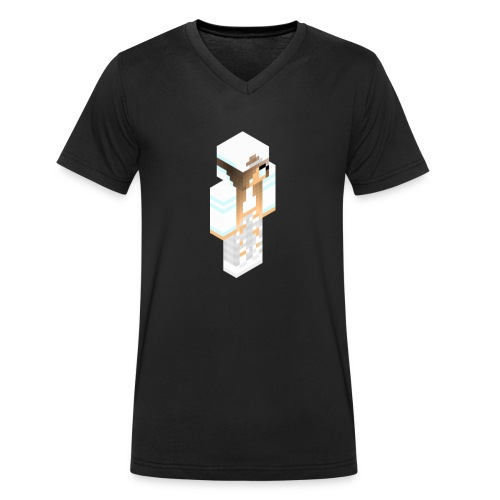 konijntjespower png - Mannen bio T-shirt met V-hals van Stanley & Stella