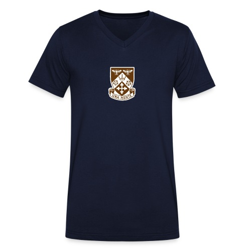 Borough Road College Tee - Men's Organic V-Neck T-Shirt by Stanley & Stella