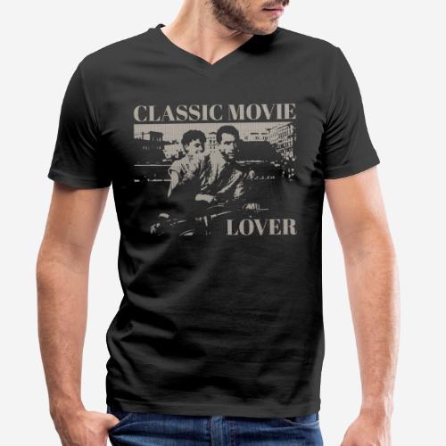 classic movie lover - Männer Bio-T-Shirt mit V-Ausschnitt von Stanley & Stella