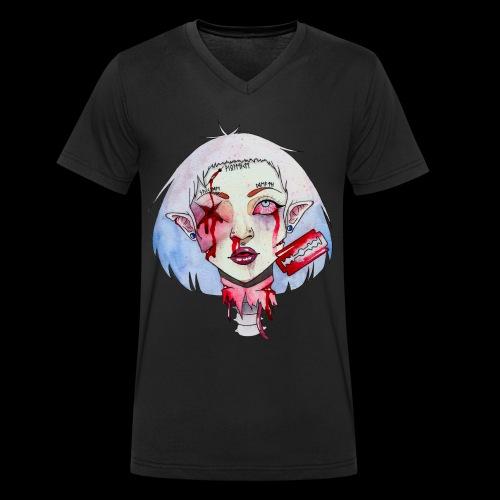 Violence - T-shirt bio col V Stanley & Stella Homme