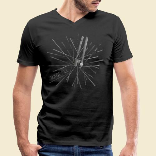 Radball   Speichen - Männer Bio-T-Shirt mit V-Ausschnitt von Stanley & Stella
