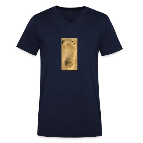 Don't Fucking Follow Me - Mannen bio T-shirt met V-hals van Stanley & Stella