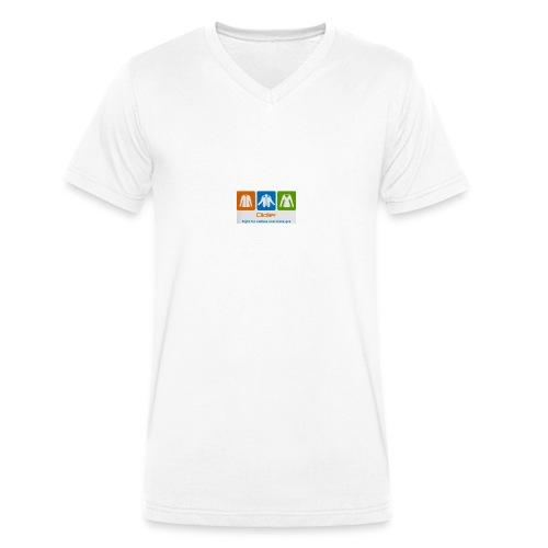 IMG 3596 - Økologisk Stanley & Stella T-shirt med V-udskæring til herrer