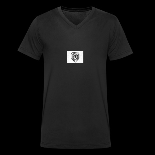 lion logo - T-shirt bio col V Stanley & Stella Homme