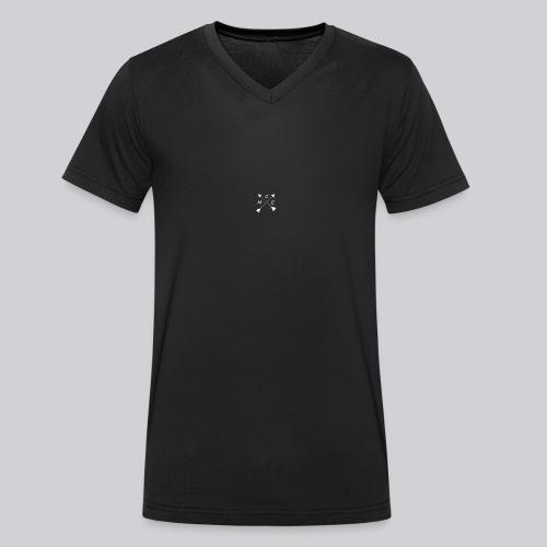M.C.E BlackEdition - Camiseta ecológica hombre con cuello de pico de Stanley & Stella