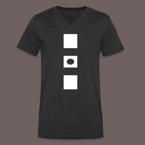 GBIGBO zjebeezjeboo - Rock - Blocs 3 - T-shirt bio col V Stanley & Stella Homme
