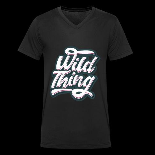 Wild Thing - Männer Bio-T-Shirt mit V-Ausschnitt von Stanley & Stella