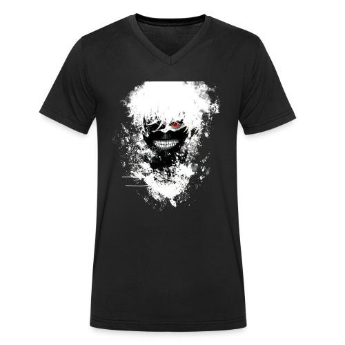 Tokyo Ghoul Kaneki - Men's Organic V-Neck T-Shirt by Stanley & Stella