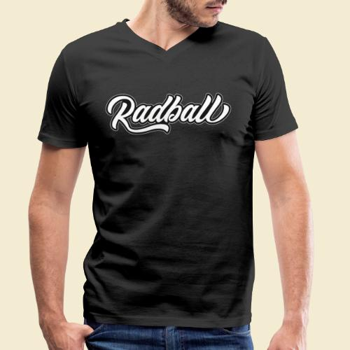 Radball - Männer Bio-T-Shirt mit V-Ausschnitt von Stanley & Stella