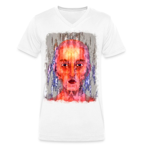 Mystic - Mannen bio T-shirt met V-hals van Stanley & Stella