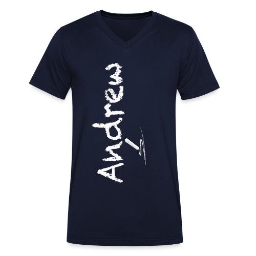 gessetto lest1 png - T-shirt ecologica da uomo con scollo a V di Stanley & Stella