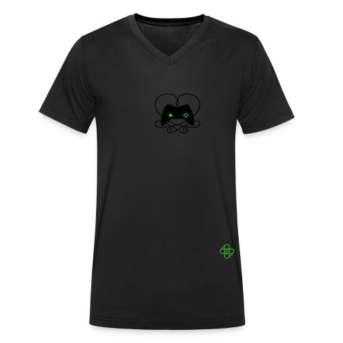 #gamesweekberlin Icon - Men's Organic V-Neck T-Shirt by Stanley & Stella