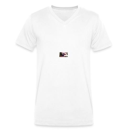 Gabes monster of doom - Men's Organic V-Neck T-Shirt by Stanley & Stella