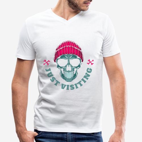 bad oma Großmutter - Männer Bio-T-Shirt mit V-Ausschnitt von Stanley & Stella