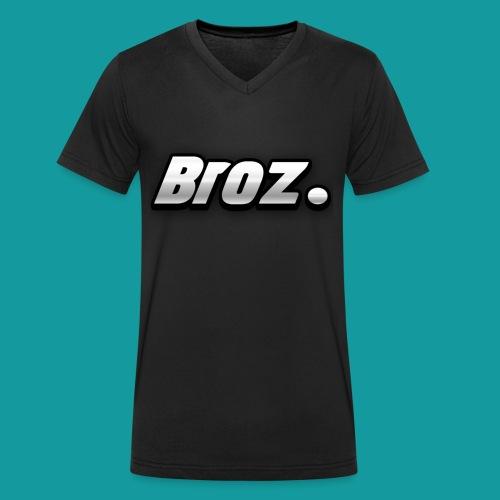 Broz. - Mannen bio T-shirt met V-hals van Stanley & Stella