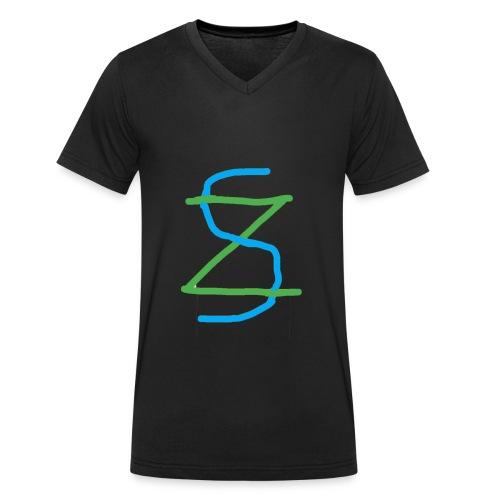 MSY 2.0 - Ekologisk T-shirt med V-ringning herr från Stanley & Stella