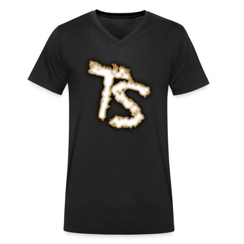 Trollshift (TS) - Men's Organic V-Neck T-Shirt by Stanley & Stella