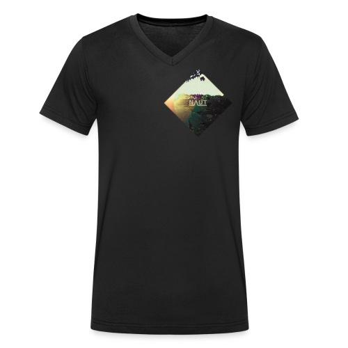 Naut Raute - Männer Bio-T-Shirt mit V-Ausschnitt von Stanley & Stella
