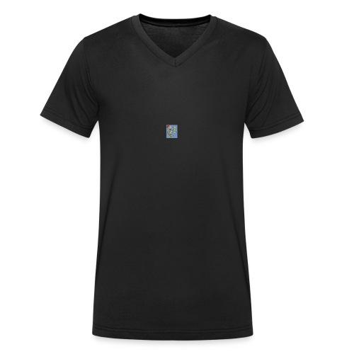 escanear0001_-2--jpg - Camiseta ecológica hombre con cuello de pico de Stanley & Stella