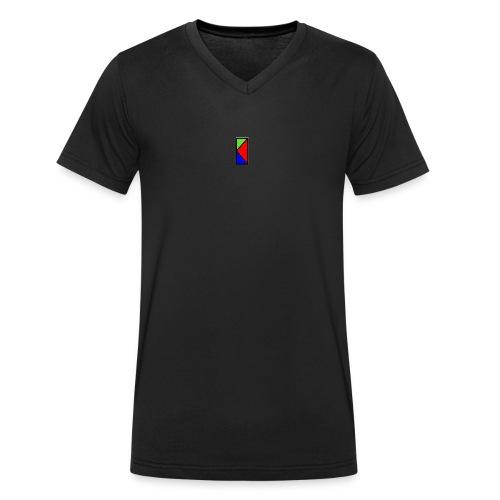 MAKER - T-shirt ecologica da uomo con scollo a V di Stanley & Stella
