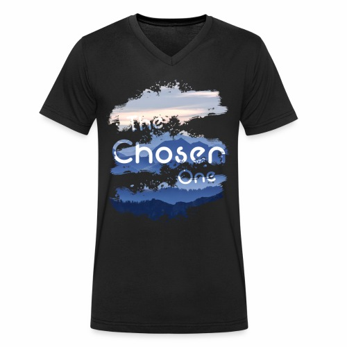 The Chosen One - Men's Organic V-Neck T-Shirt by Stanley & Stella