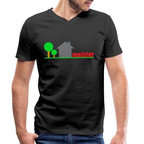 Hausmeister - Männer Bio-T-Shirt mit V-Ausschnitt von Stanley & Stella