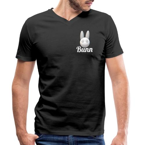 White Bunn - Men's Organic V-Neck T-Shirt by Stanley & Stella