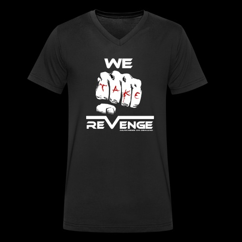 Darkness on Demand - We Take Revenge - Männer Bio-T-Shirt mit V-Ausschnitt von Stanley & Stella