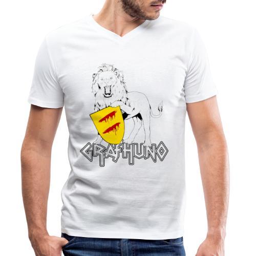 Ostfriesland Häuptlinge Graf Huno von Rastede - Männer Bio-T-Shirt mit V-Ausschnitt von Stanley & Stella